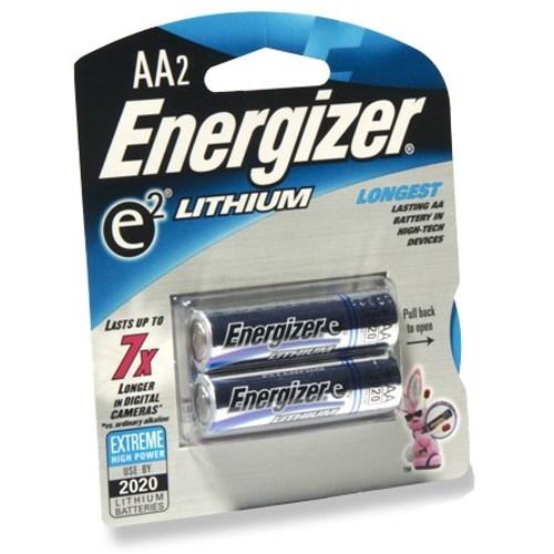 Energizer-e² Lithium (2 AA)-Piles