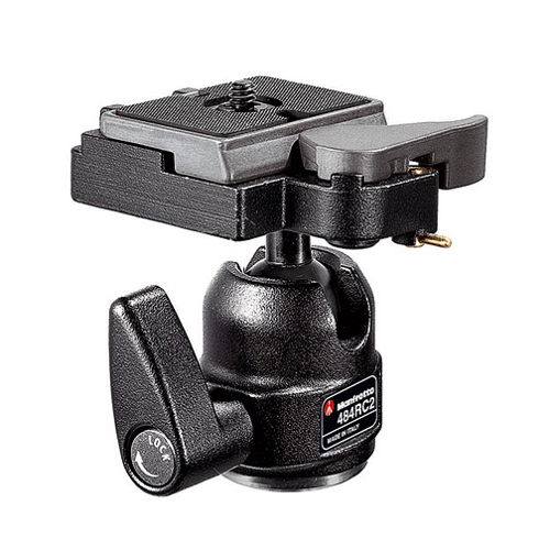 Manfrotto-484RC2 mini ball with RC2 R.C.SYST.-Tripod Heads