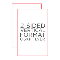 "Standard 8.5"" x 11"" Flyer"