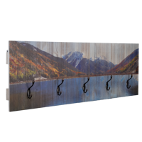 12x36 Rustic Wall Hook Rack