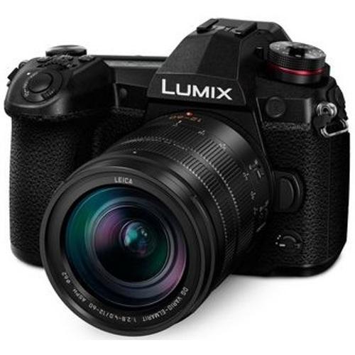 Panasonic-Lumix G9 Mirrorless Camera Kit with Lumix G Leica DG Vario-Elmarit 12-60mm-Digital Cameras