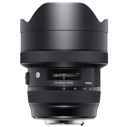 Sigma-12-24mm F4.0 DG HSM Art for Canon-Lenses - SLR & Compact System