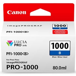 Canon-PFI-1000 Blue Ink Tank-Ink Cartridges