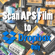 Scan developed APS film to Dropbox