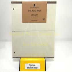 Gallery Leather 5x7 Gallery Album Refill 11037 Album Refills