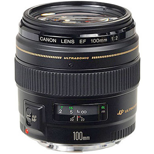 Canon-EF 100mm F2.0 USM-Lenses - SLR & Compact System