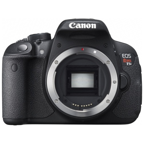 Canon-EOS Digital Rebel T5i - Body Only - Black-Digital Cameras