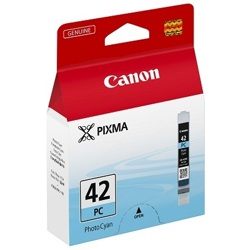 Canon-CLI-42PC - Photo Cyan Ink Cartridge-Ink Cartridges