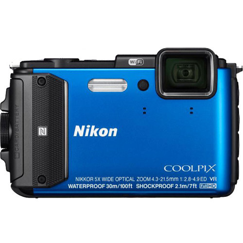 Nikon-CoolPix AW130 Digital Camera-Digital Cameras
