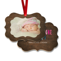 Wood Ornament (PG-835)