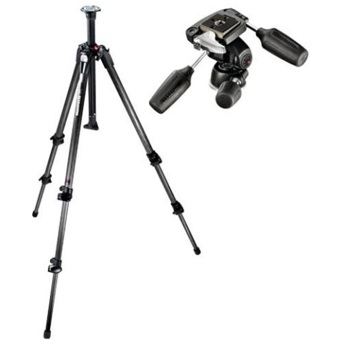 Manfrotto 190CX3 3-Section Carbon Fiber Tripod without Head