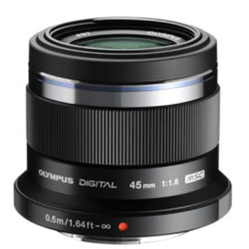 Olympus-M. Zuiko Digital ED 45mm f1.8 Lens - Black-Lenses - SLR & Compact System