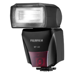 Fujifilm-Flash avec support EF-42-Flashs