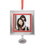 Charm Ornament - Joy