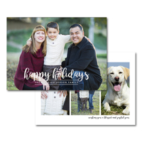 Happy Script: 10pk Holiday Cards
