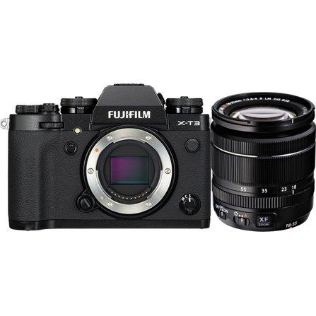 6f91df6d107 Fujifilm X-T3 Mirrorless Digital Camera with XF 18-55mm F2.8-4 R LM ...