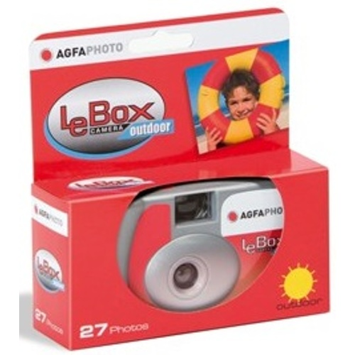 Agfa-LeBox 400 Camera Outdoor - 27 Photos-Film Cameras