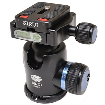 Sirui-K-10X Ball Head-Tripod Heads