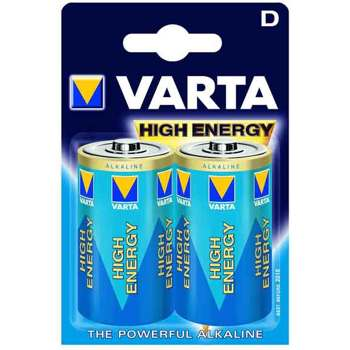 Varta-High Energy D (2 pack)-Batteries