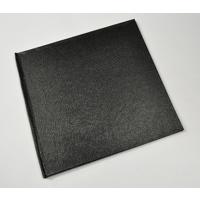 12x12 Premium Luster Photobook - Black Textured Leather Cover