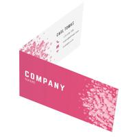 Business card Flip open (left/right)