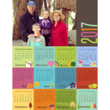 Magnet Calendar (17-01 V)