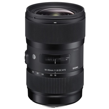 Sigma-18-35mm F1.8 DC HSM Art for Canon-Lenses - SLR & Compact System