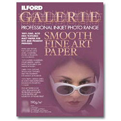 Ilford-Galerie Smooth Fine Art Paper 8.5x11'' (10 sheets)-Papier