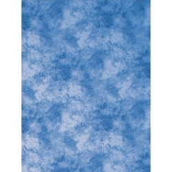 ProMaster-Cloud Dyed Backdrop - 10' x 12' - Medium Blue #9192-Backgrounds