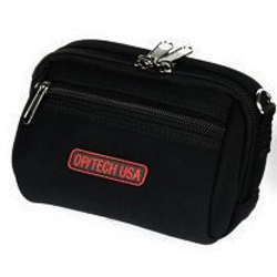 OpTech-Soft Pouch - Zippeez: Large - Black-Bags and Cases