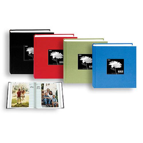 Pioneer-Cloth Frame Photo Album - 200 Pocket 4x6 - Deep Black #DA200CBF-Albums and Portfolios