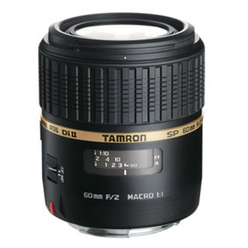 Tamron-SP AF 60mm F2 Di II LD (IF) 1:1 Macro Lens for Sony-Lenses - SLR & Compact System