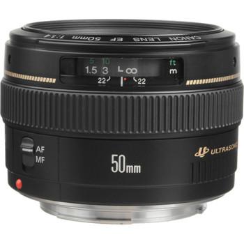 Canon-EF 50mm F/1.4 USM Autofocus-Lenses - SLR & Compact System