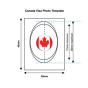 Canadian Visa Photo Templates