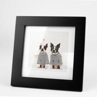 5x5 Black Tabletop Frame w/Print