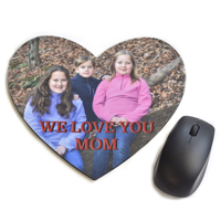 Heart Shaped Mouse Pad Freestyle 9.5 x 8