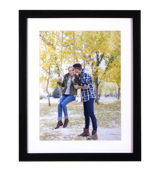 12x18 Matted Print in 16x20 Frame