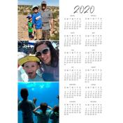 Magnetic Calendar - (20-04-V)