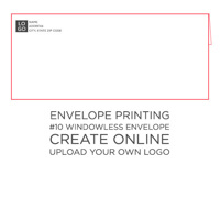 50pk: #10 Envelope Windowless