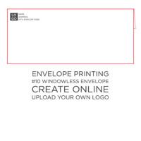 50pk: #10 Envelope Windowless