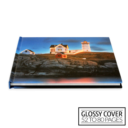 11x8½ Classic Image Wrap Hard Cover / Glossy Cover (52-80 pages)