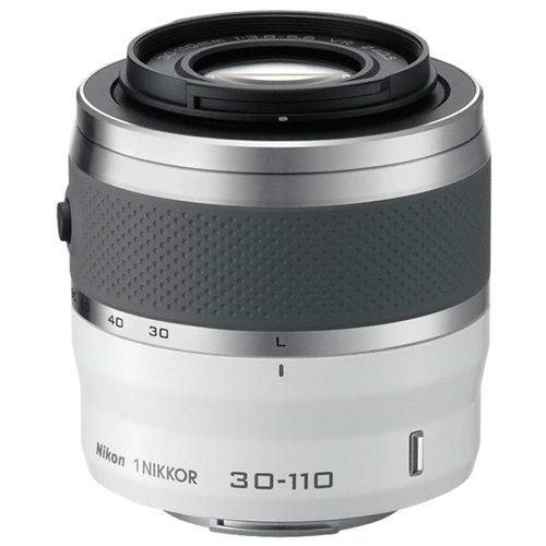 Nikon-1 NIKKOR VR 30-110mm f/3.8-5.6 - White-Lenses - SLR & Compact System