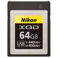 Nikon-XQD Memory Card 64GB-Memory cards, tape and discs