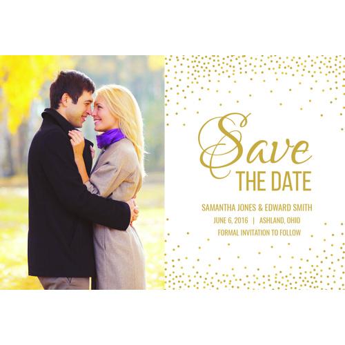 Confetti Celebration Save the Date
