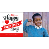4x8 Premium Greeting Card (Val-A2)