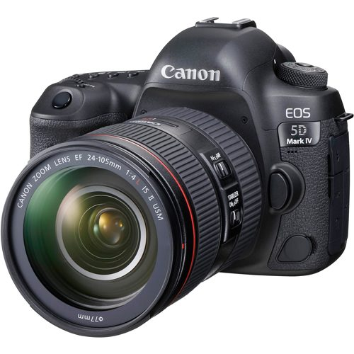 Canon-EOS 5D Mark IV with EF 24-105mm F4L IS II USM Lens-Digital Cameras