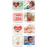4x8 1 Sided - Mini Valentine Cards - B2