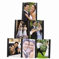 Pyramid Frame Acrylic Holds 6 Vertical Photos