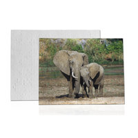 252 piece Personalized Fabric Puzzle-Horizontal