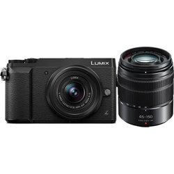 Panasonic-Lumix DMC-GX85 4K Mirrorless Camera with 12-32mm and 45-150mm Lenses-Digital Cameras